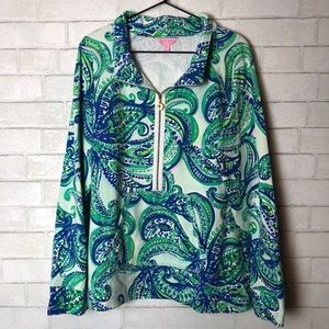 Lilly Pulitzer Skipper Popover Paisley XL